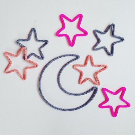 Lot de 5 petites étoiles